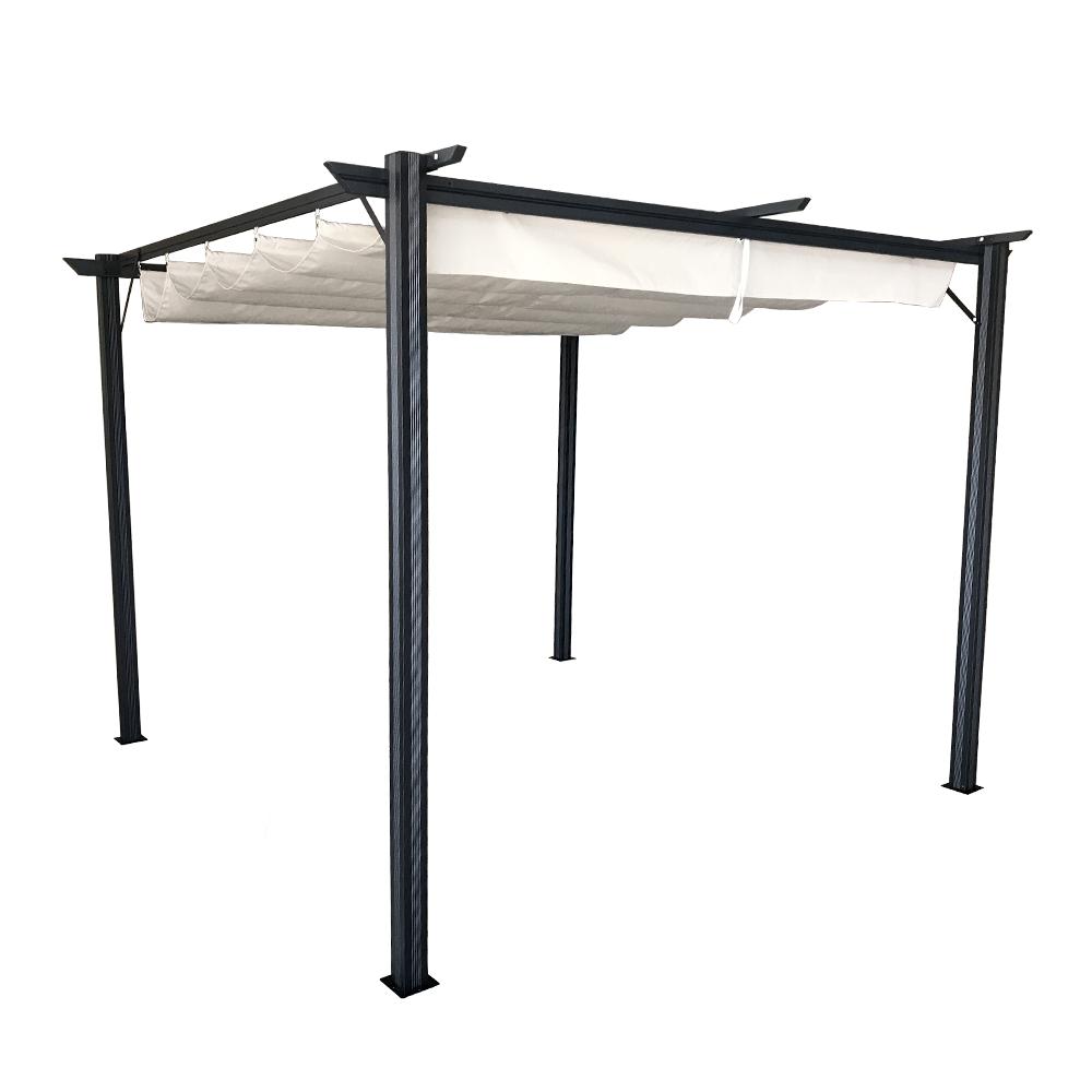 Pergola s posuvnou strechou, hliník, PEPY BASIC