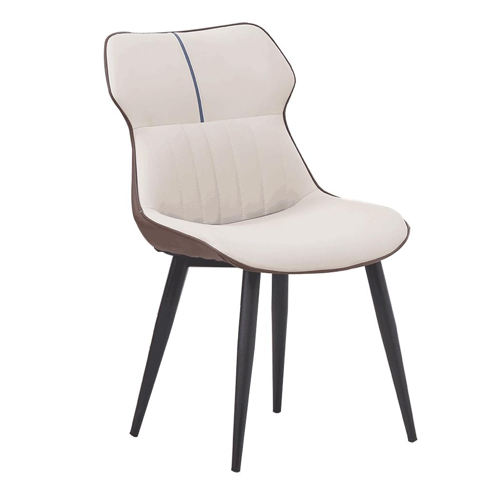 Jedálenská stolička, béžová/hnedá, OSTELA