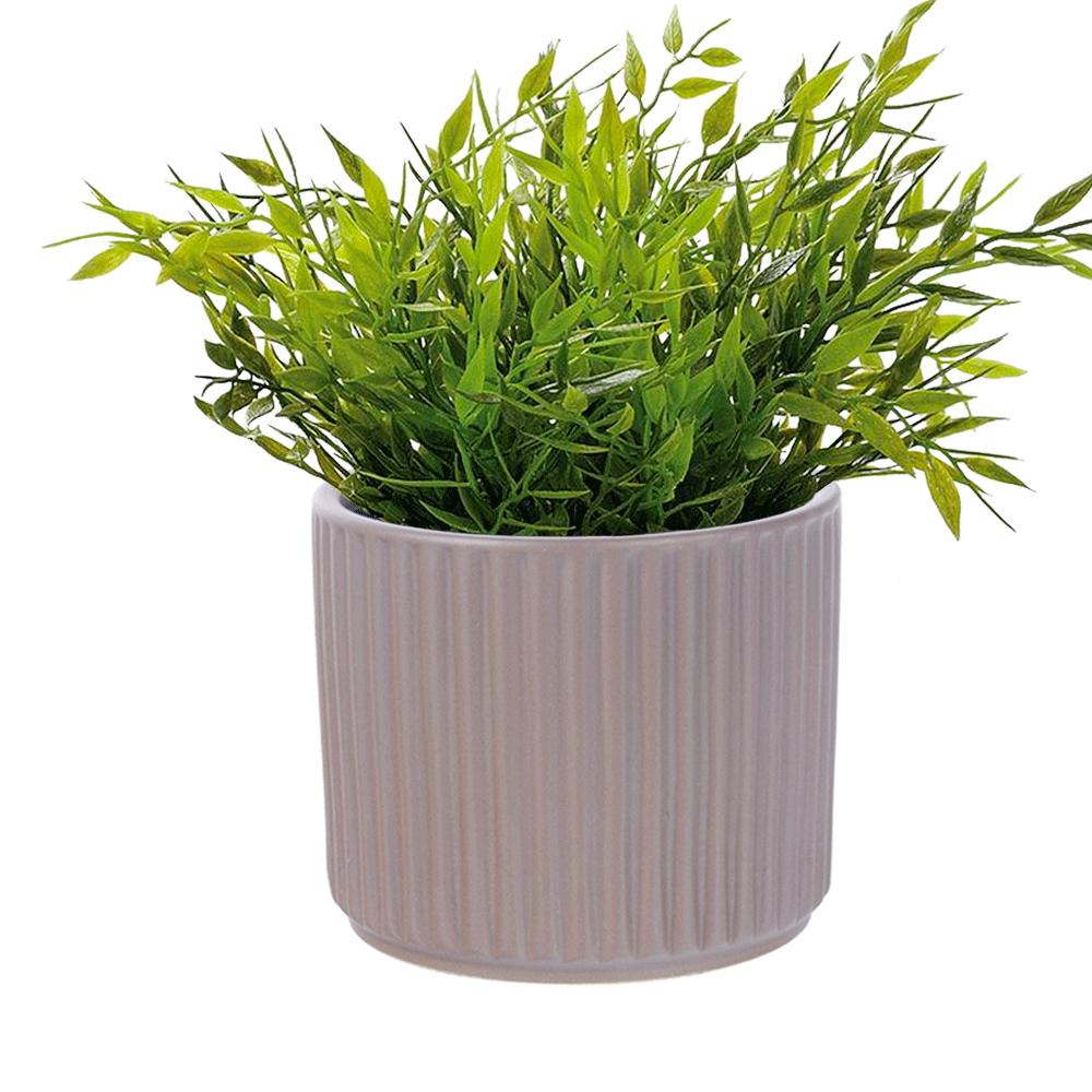 Agyag virágcserép, barna matt, KELSO TYP 2