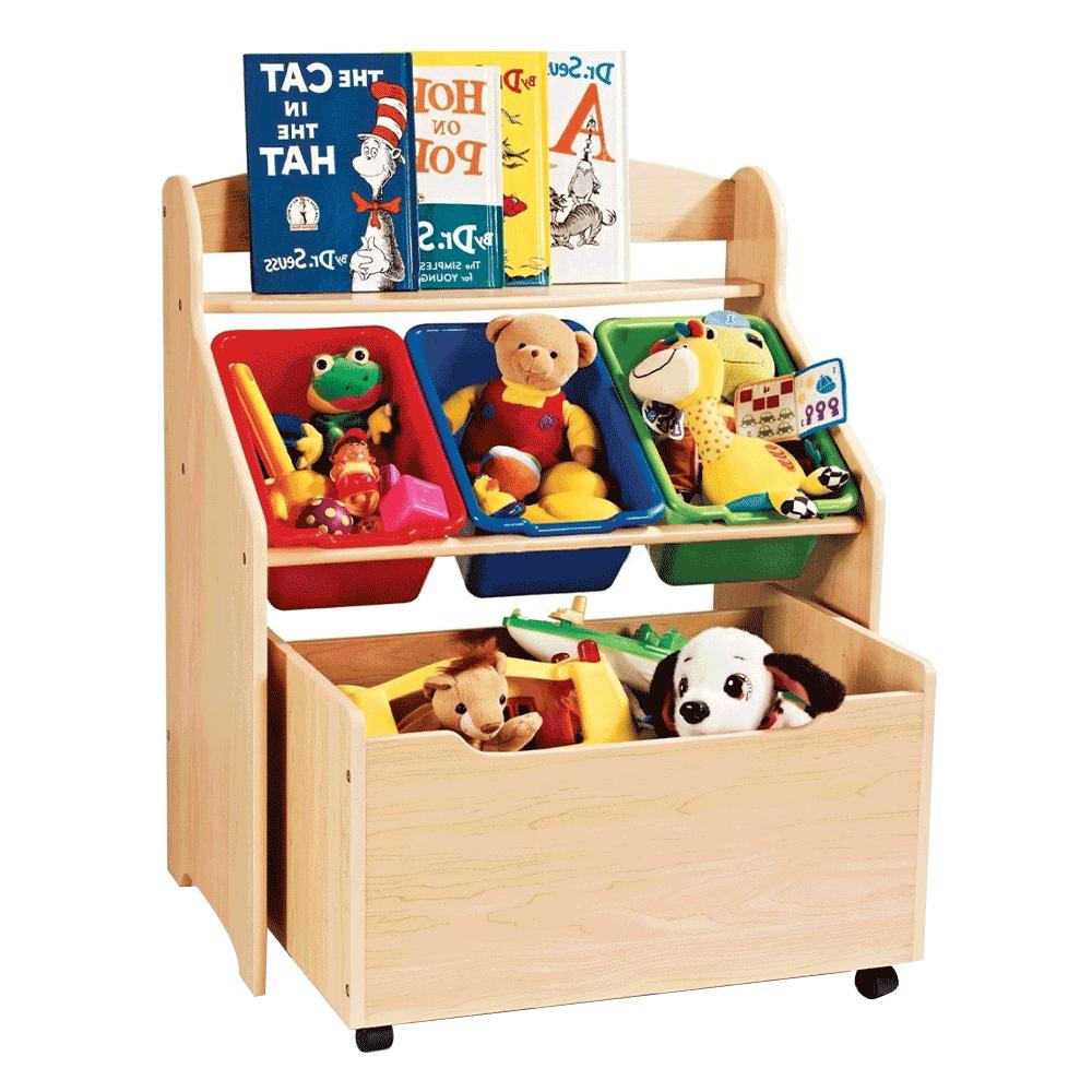 Organizér na hračky, prírodná/viacfarebná, MAISIE
