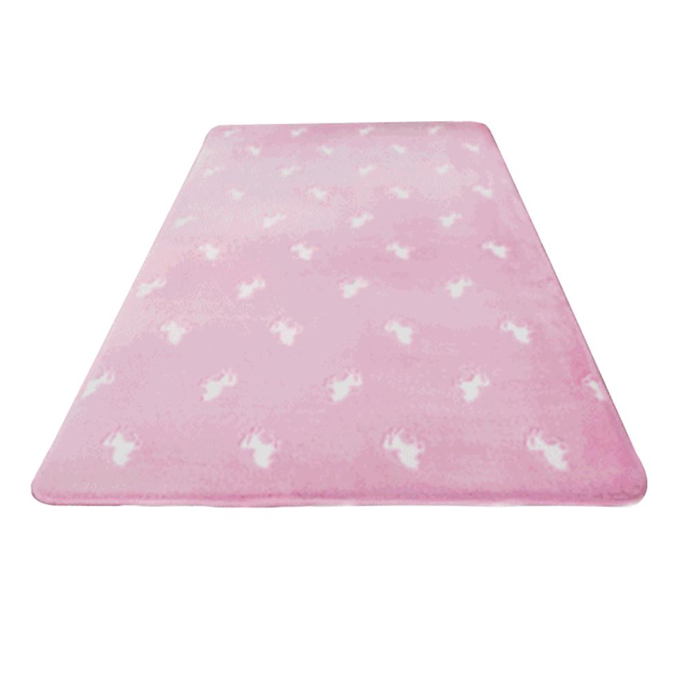 Világító szőnyeg, rózsaszín/mintás, 160x230 cm, GLOVIS TYP 2