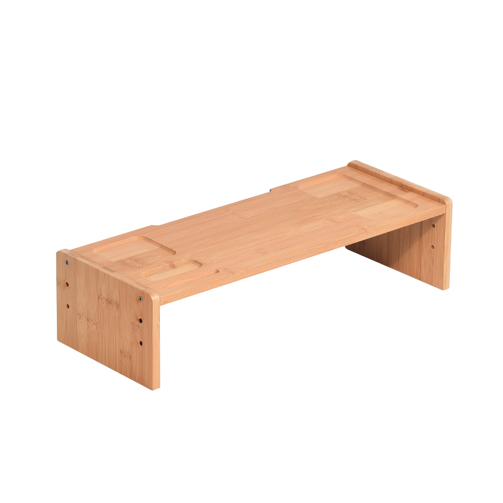 Suport monitor, bambus, natural, ELARO TIP 3
