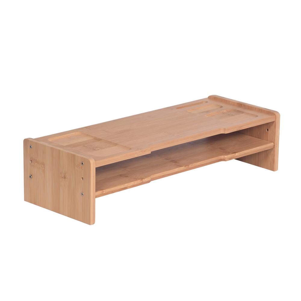 Suport monitor, bambus, natural, ELARO TIP 4