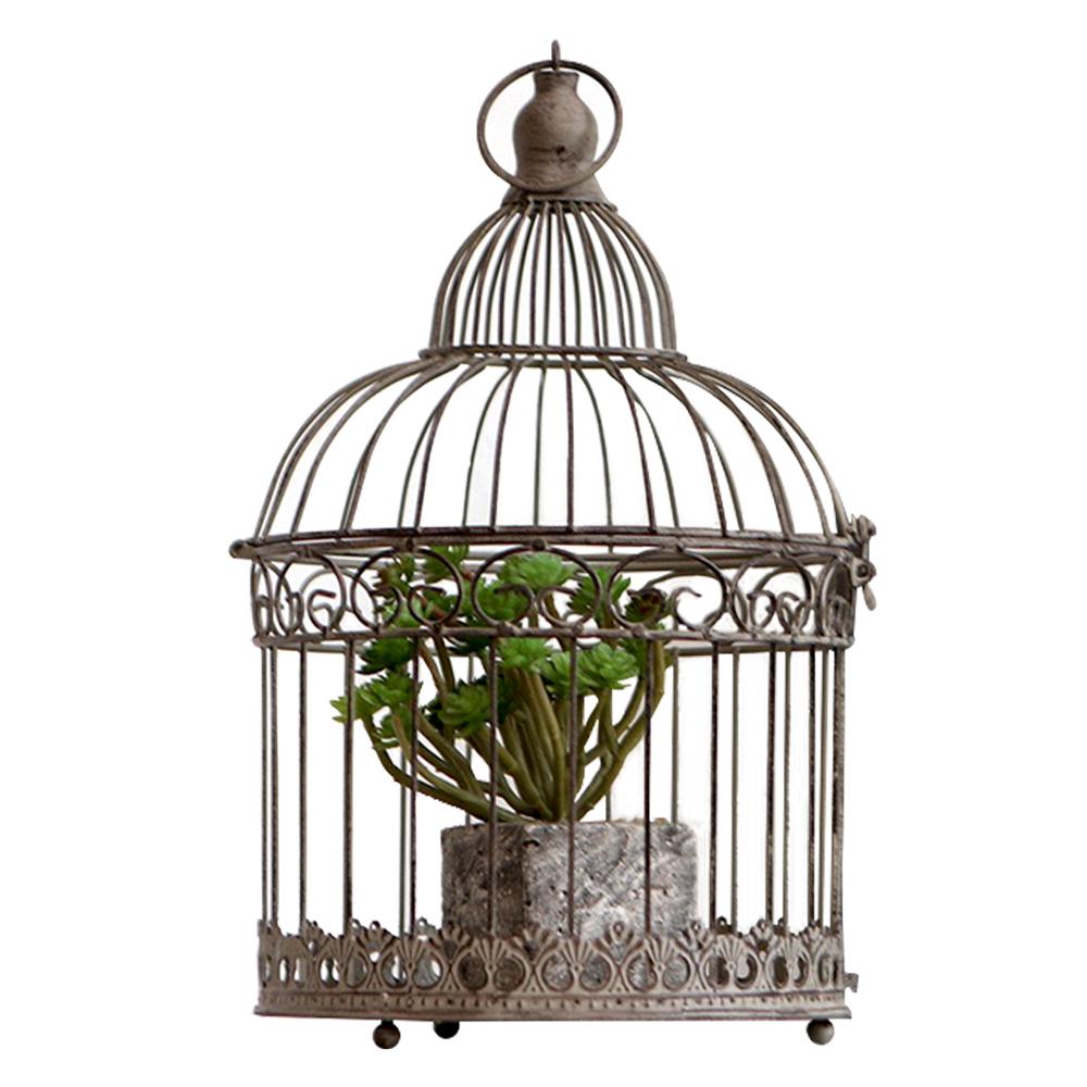 Casă de păsări, metalică, gri-maro, BIROD