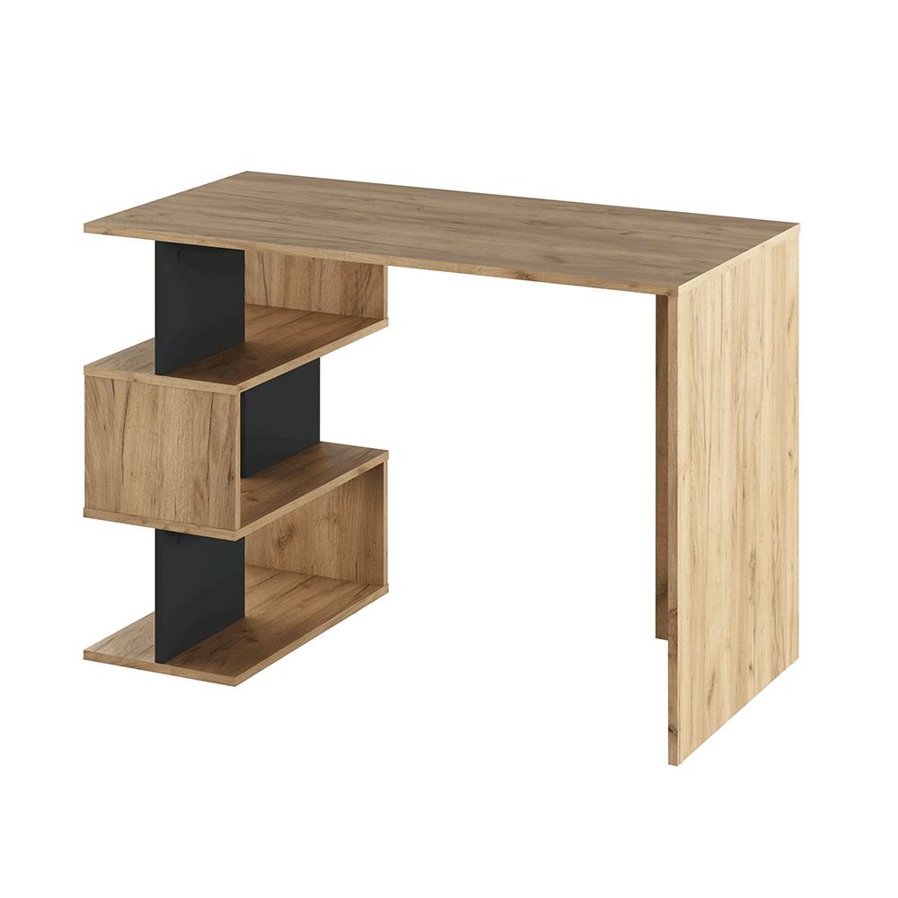 PC stôl, dub artisan/grafit, ABES