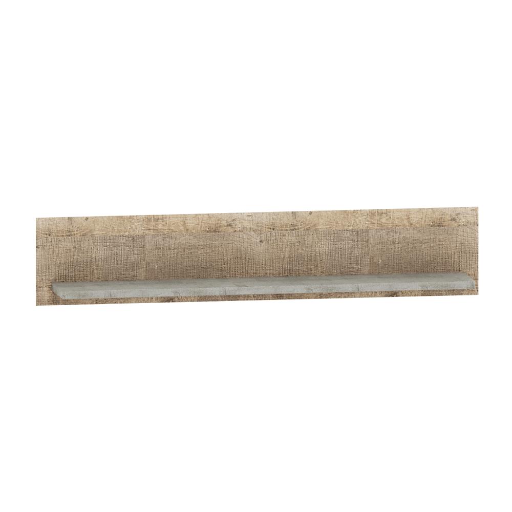 Raft, stejar nisipiu / gri, BARIA 140