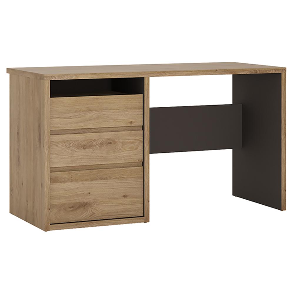 PC stôl, univerzálny (Ľ/P), dub shetland, SHELDON TYP 80