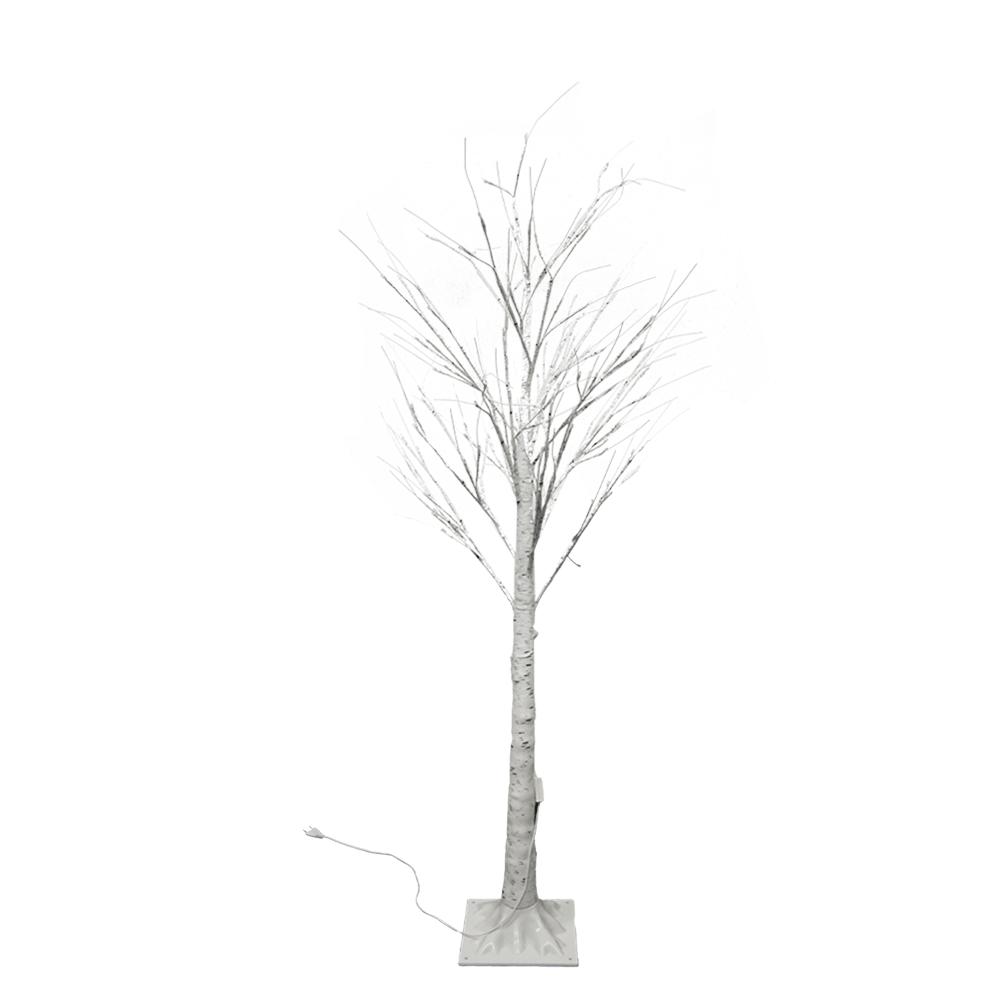 Brad de Crăciun cu LED, mesteacăn, 90 cm, WHITE BIRCH