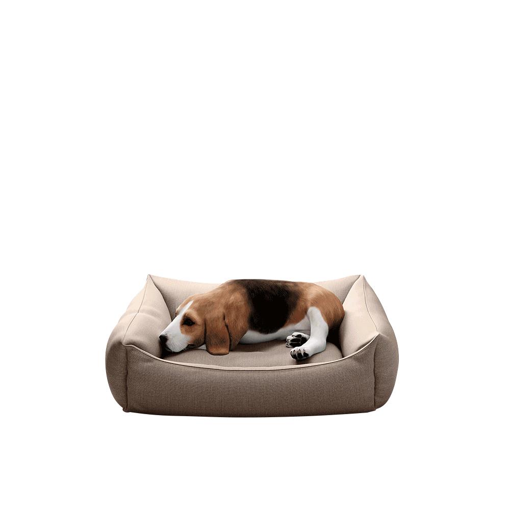 Kutyaágy, 60 cm, barnásbézs Taupe, DOGBED TYP 1