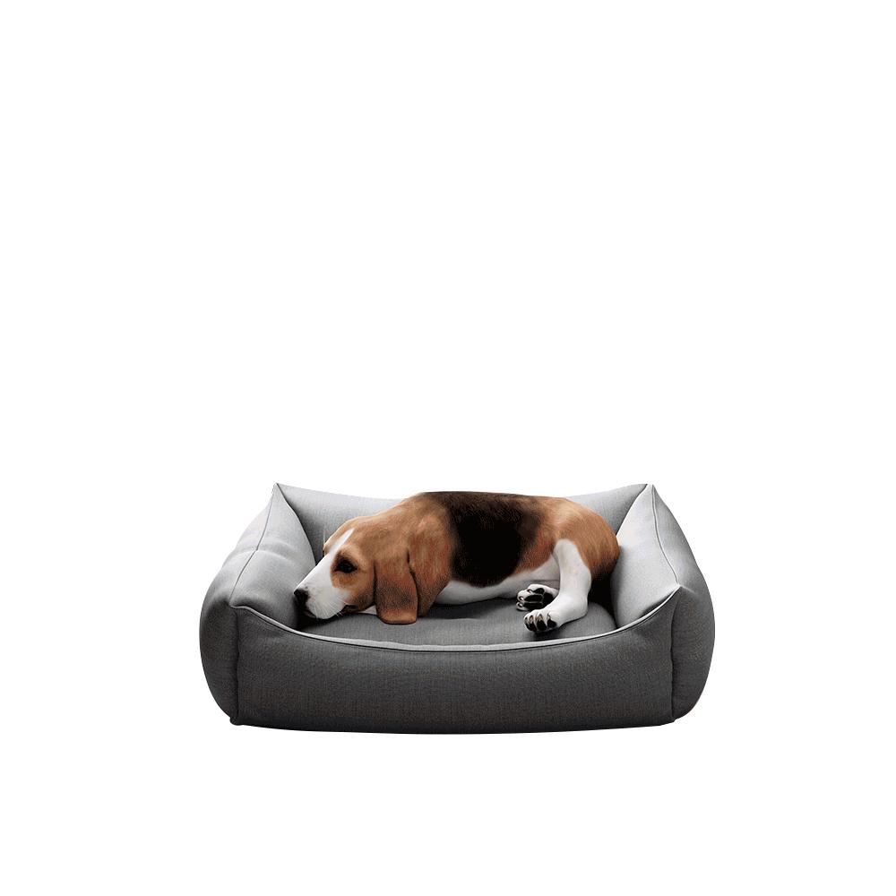 Kutyaágy, 60 cm, szürke, DOGBED TYP 1