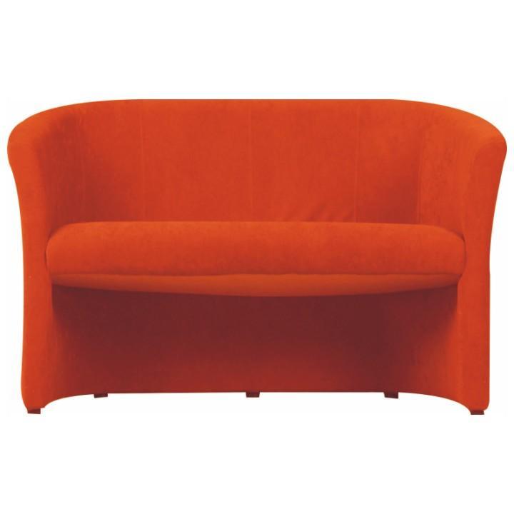 Dupla fotel,  narancssárga, CUBA