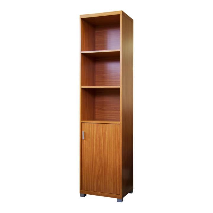 Szekrény, alsó ajtóval, cseresznyefa, OSCAR C01