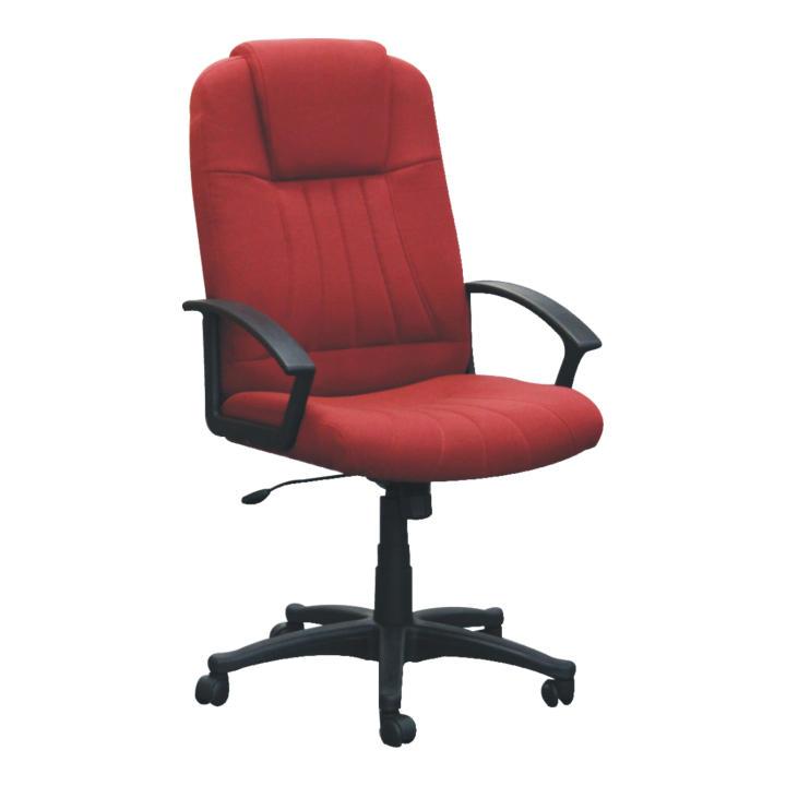 Kancelárske kreslo, bordovo/čierne, TC3-7741
