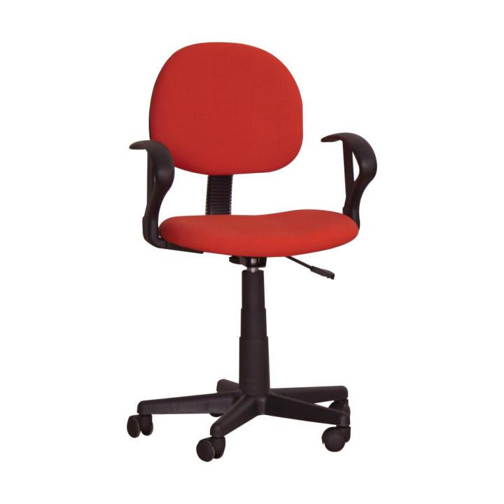 Irodai szék, piros, TC3-227