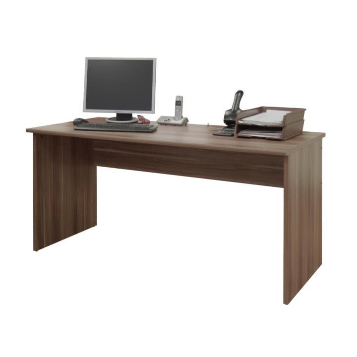 TEMPO KONDELA Kancelársky stôl, slivka, JOHAN 01 - Tempo nábytek