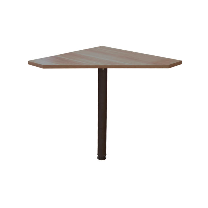 TEMPO KONDELA Rohový PC stôl, slivka, JOHAN 06 - Tempo nábytek