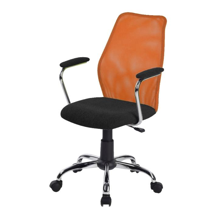 Kancelárska stolička, oranžová, BST 2003