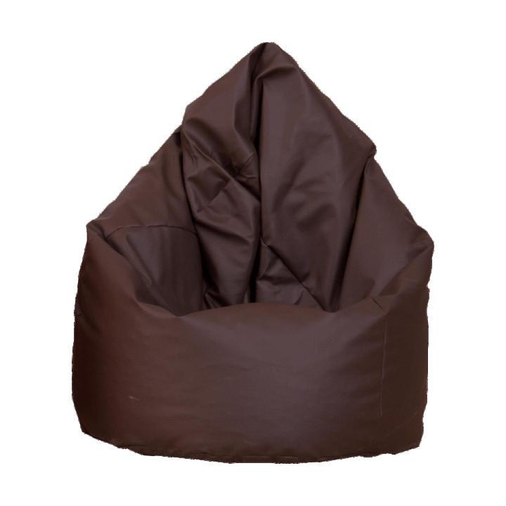 Sedací vak, čokoládová ekokoža, BAG VAK